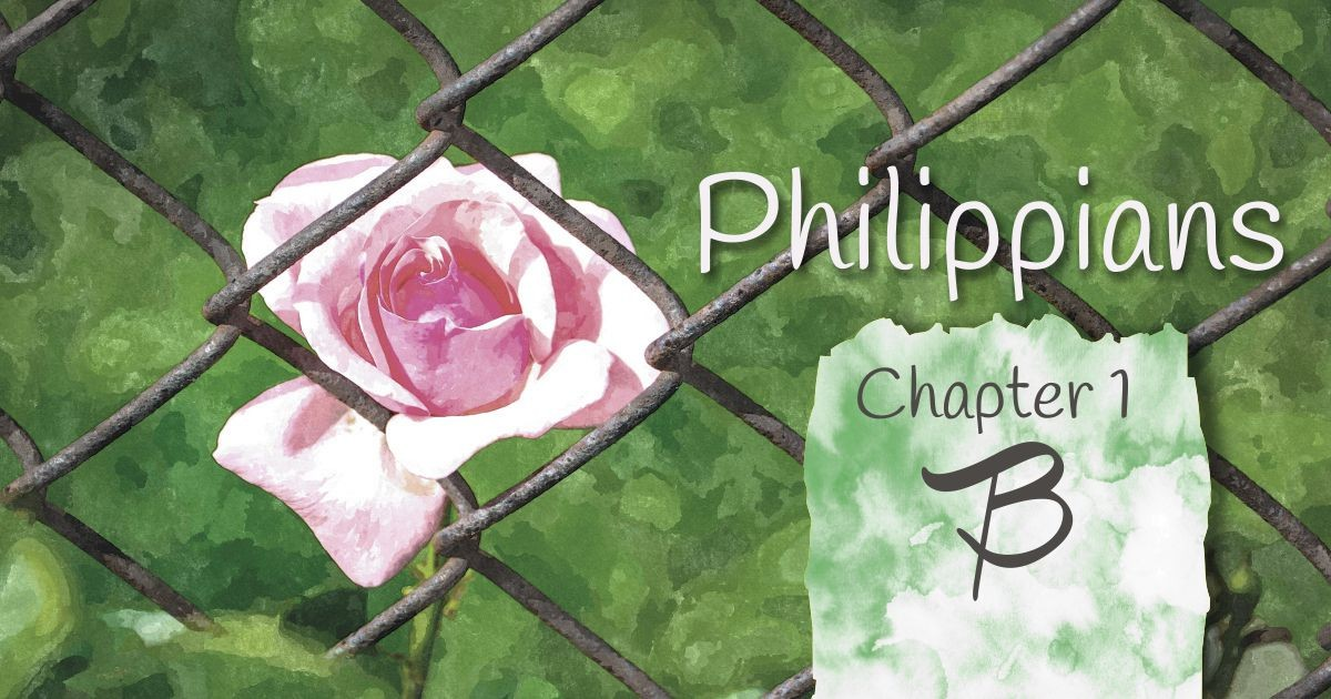 Philippians 1B: A series of reflection on scripture