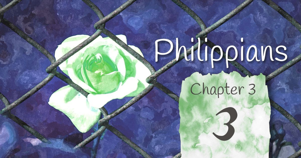 Philippians 3: A series of reflection on scripture